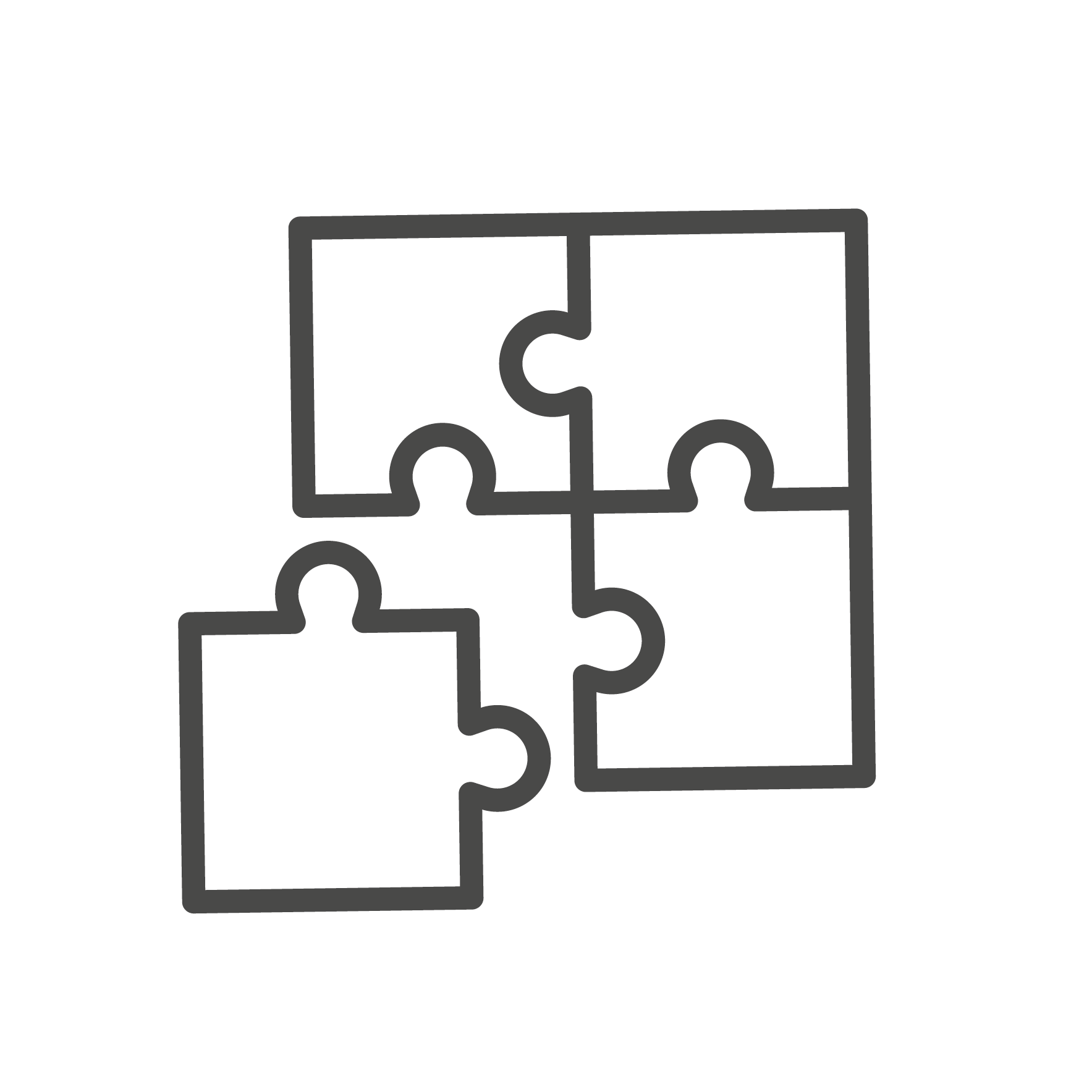 StrategicPlay erlebbar Puzzle Icon